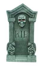 Tombstone: 36-inch Realistic Tombstone - Free Shipping