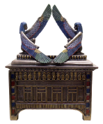 Egyptian Isis Treasure Box