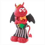 Romantic Devil Figurine - Perfect for Halloween or Valentine's Day