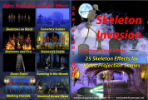 Skeleton Invasion Projection DVD