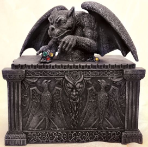 Gargoyle Treasure Box
