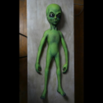 Green Galaxy Alien (shipping included)