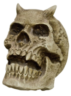 Horned Skull Prop / Decoration