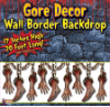 Gore Decor Backdrop